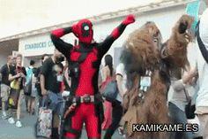 funny Deadpool cosplay | tumblr_mnyzwzFINa1rgdjn8o1_r1_400.gif