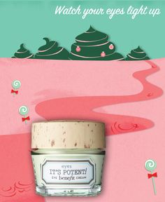 Repin to win it's potent eye cream & post to Twitter with #benesweetshoppe on 5th Dec