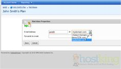 How to setup email forwarding in WebsitePanel Tutorials, Ads, How To Plan, Wizards