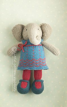 All of Little Cotton Rabbits toys are so adorable! And now she has patterns available!! :o)