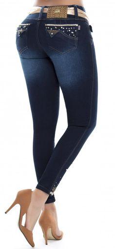 0650d4e82dc Jeans levanta cola LUJURIA 78854 Pantalones Levanta Cola