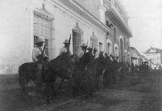 Soldados españoles en Ponce, Puerto Rico (1898)