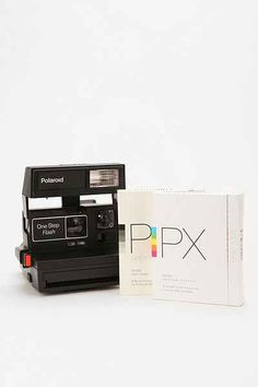 Vintage Polaroid 600 Camera Kit By Impossible Project - Urban Outfitters