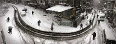 Curved street in Istanbul, in winter, 2004 (photo by Nuri Bilge Ceylan Heart Photography, Street Photography, Landscape Photography, Photos Panoramiques, Visit Istanbul, Turkey Photos, Turkish Art, Photo Series, Winter Solstice