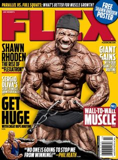Flex Magazine Cover - Feb 2013