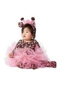 Gymboree Tiny Giraffe Halloween Costume, Tights & Heandband