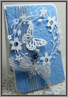 Die Creations by Lisa Folley: Made using Memory Box Die cuts  scraps of paper / http://craftingcottage.wordpress.com/2012/01/21/another-memory-box-die-creation/