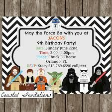 free printable star wars party invitations Recherche Google star