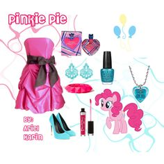 Pinkie Pie - Crystal Empire: Crystal Pony by ariel-karin on Polyvore