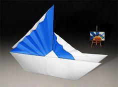 Origami Chinese Ship by Jannie Schuylenburg