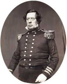 Matthew Calbraith Perry was a Commodore of the U.S. Navy and played a leading role in the opening of Japan to the West with the Convention of Kanagawa in 1854. Perry was very concerned with the education of naval officers and helped develop an apprentice system that helped establish the curriculum at the United States Naval Academy. With the advent of the steam engine, he became a leading advocate of modernizing the U.S. Navy and came to be considered The Father of the Steam Navy in the US.