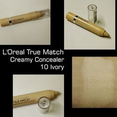 MichelaIsMyName: L'Oreal True Match Creamy Concealer 10 Ivory REVIE... Hello Everyone, Loreal, Concealer, About Me Blog, Ivory