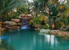 30+ Amazing Lagoon Swimming Pool Design Ideas