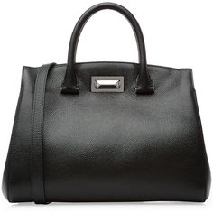 f15389e6c1 Max Mara Leather Tote (39.945 RUB) ❤ liked on Polyvore featuring bags