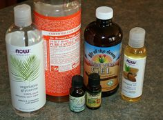 ingredients for homemade facial cleanser
