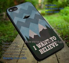 I Want to Believe Twin Peaks Mash Up iPhone 6s 6 6s  5c 5s Cases Samsung Galaxy…