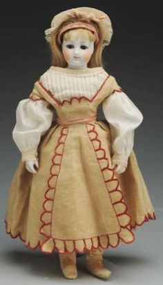 french fashion doll dresses as a little girl late mid  1860s