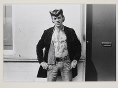 Tattooed Teddy boy - Southend on Sea by Kevin Lear, England, 1974. l Victoria and Albert Museum #photography #retro