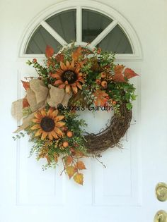 Thanksgiving Mesh Wreath, Fall Mesh Wreaths, Deco Wreaths, Diy Fall Wreath, Autumn Wreaths, Wreaths For Front Door, Holiday Wreaths, Fall Festival Decorations, Harvest Decorations