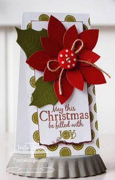 Joy tag by **Inge** - Cards and Paper Crafts at Splitcoaststampers