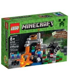 We bought the Minecraft The Cave Lego Set for our 8 year old son. This Minecraft The Cave Lego Set is cool because it comes with 2 minifigs and the giant spider. Toys R Us, Kids Toys, Baby Toys, Lego Minecraft, Minecraft Stuff, Minecraft Party, Steve Minecraft, Minecraft Toys For Kids, Minecraft Pictures