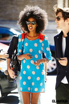 This is what you call polka dot perfection