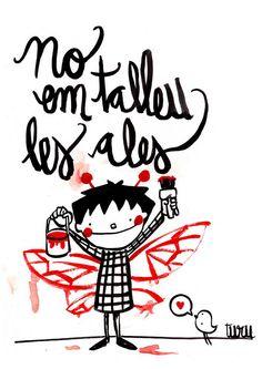 No les cortemos las #alas a nuestros #hijos. Inventemos unas para que puedan volar