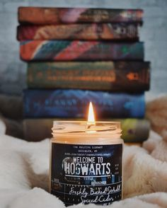 """2,381 Likes, 31 Comments - Patricia of The Night Court (@accio_library) on Instagram: """"Welcome to Hogwarts! This new magnificent candle from @themeltinglibrary smells heavenly! A blend…"""""""