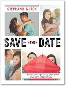 Save the Date Cards & Photo Save the Dates | Wedding Paper Divas