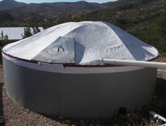 When you are ready to get serious about rain catchment, build a cistern! http://velacreations.com/howto/cistern-howto/