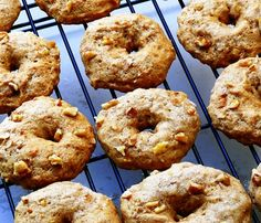 Baked Banana Donuts - Healthier than the real thing