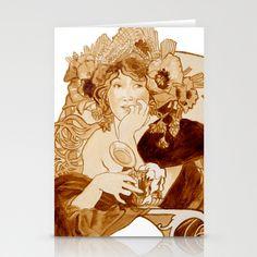 Bieres de la Meuse Stationery Cards by BeerPainter - $12.00