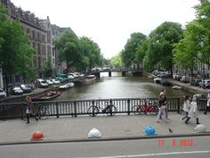 During the voyage to the Amsterdam port, capital of Netherlands