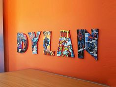 How to Create Comic Book Letters | Mod Podge Letters | CraftCuts.com