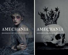amechania - greek goddess of helplessness