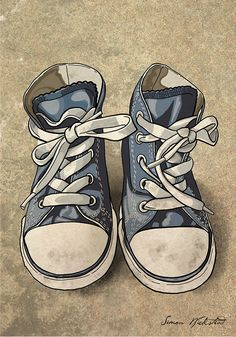 sports shoes c714f c0474 270 mejores imágenes de Sneakers Art   Paintings, Sneaker art y Charts
