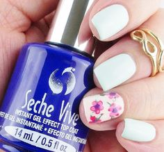 Just Another Mani Monday - Testing Seche Vive Instant Gel Effect Top Coat