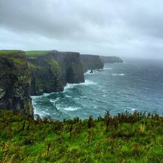 Cliffs of Moher in Liscannor, Ireland