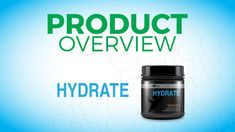 The hydrate product from Idlife delivers a carefully researched blend of vital electrolytes, antioxidants, MCT's, vitamins and minerals to help effectively hydrate and protect the body from the harmful effects of dehydration. http://mywayoflife321.idlife.comHydrate - Overview