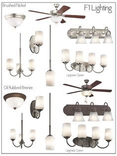 Aubrey Brushed Nickel Lighting Package