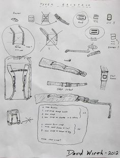 backpack plans, instructions how to make, sew, build, camping bag – Mark Benson … – jamar phelps 052 – bushcraft camping Bushcraft Backpack, Bushcraft Camping, Diy Camping, Camping Crafts, Camping Survival, Survival Tools, Camping Ideas, Homemade Backpack, Diy Backpack