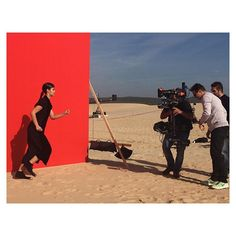 @asia_chow on set and in action with @mario_sorrenti_2 ‼️❤️