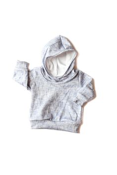 Baby Hoodie/ Organic Baby Hoodie/ Organic Baby by babysproutsco
