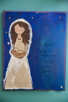 O Holy Night Nativity by ArtisticAdoption on Etsy