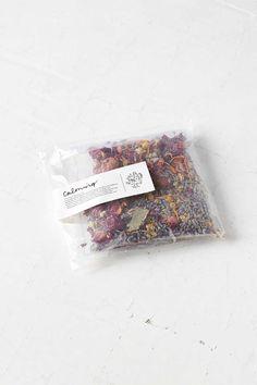 FIG + MOSS || Calming Herbal Bath Tea