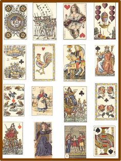 victorian playing cards - Google Search