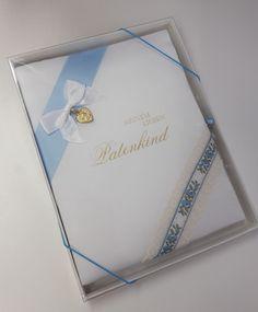 "Taufbrief ""Meinem lieben Patenkind"" Karl-Peter | p32 Baby, Rosary Beads, Godchild, Keepsakes, Handmade, Gifts, Newborn Babies, Infant, Baby Baby"