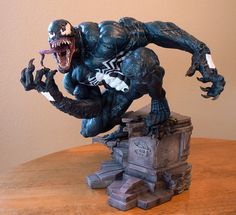 #Venom Comicquette/Statue from #Sideshow. On Display at the J.Preston National Toy #Museum Hollywood,CA. Please see our website, coming soon.