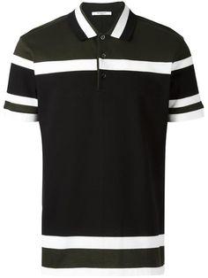 Givenchy Cuban-fit paneled polo shirt