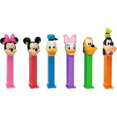 Purchase the Mickey & Friends Pez Dispenser & Candy Set party supplies - get your candy & lollipops before we sell out! Mickey Mouse Party Games, Mickey Mouse Party Favors, Mickey Mouse Clubhouse Birthday Party, Boy Party Favors, Mickey Party, Mickey Mouse And Friends, Mickey Mouse Birthday, Mouse Parties, Boy Birthday Parties